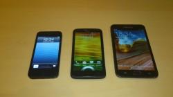 iPhone5 HTCOneXPlus GalaxyNote