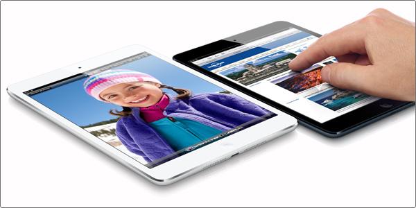 Nouvel iPad avec écran Rétina