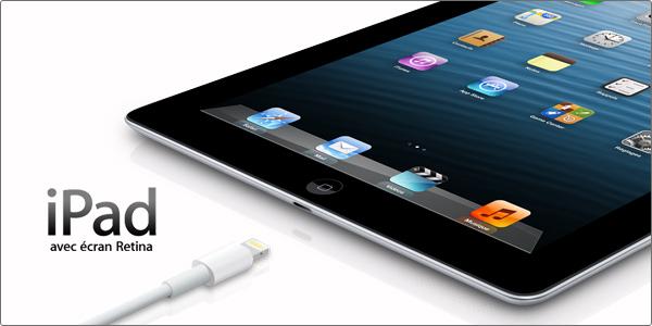 Nouvel iPad 4