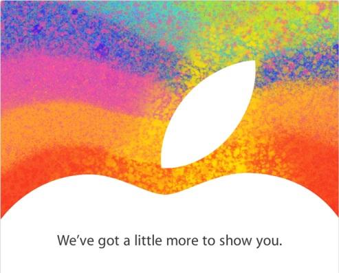 Invitation conférence iPad Mini
