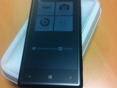 Déballage HTC Windows Phone 8X2