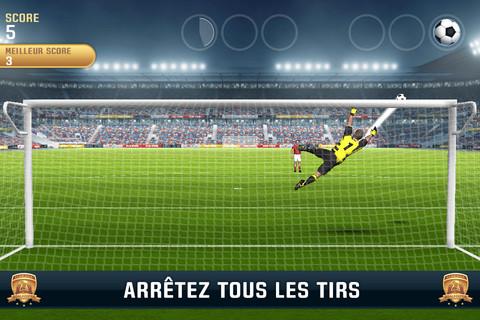 TopAppli Jeu Flick Kick GoalKeeper iPhone - deaeafd0666