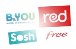 Logos opérateurs low cost