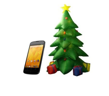 Nexus 4 Noël