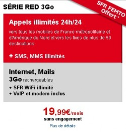 Offre SFR Red