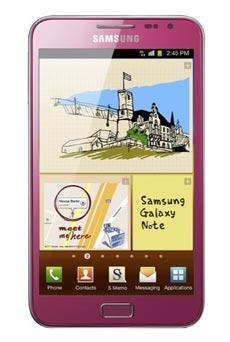 Samsung Galaxy Note rose