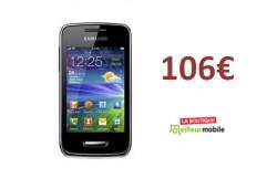 Bon Plan : le Samsung Wave Y � 106�