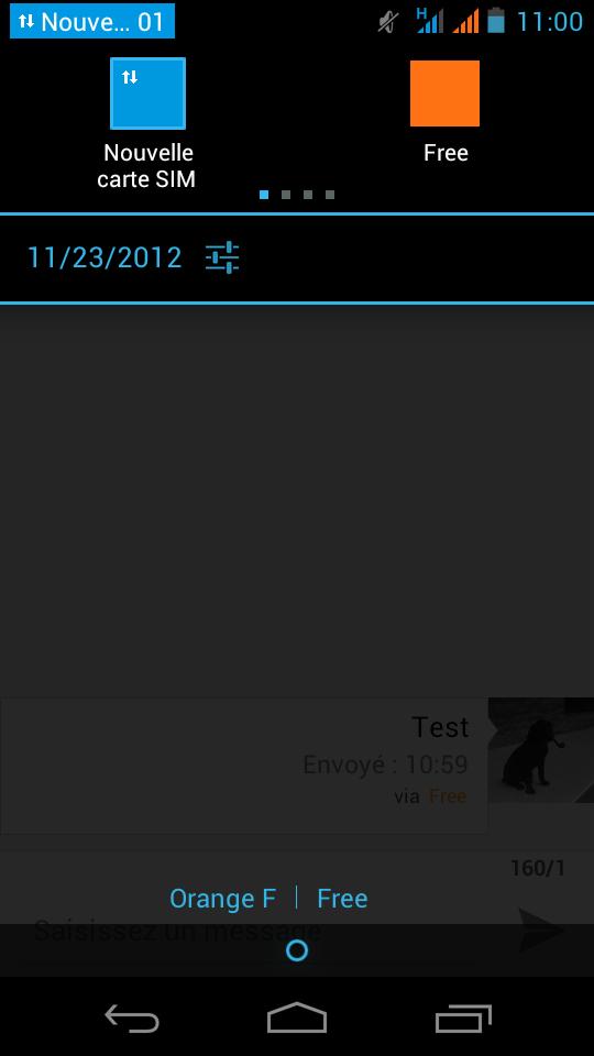 Screenshot Acer Liquid Gallant Duo2