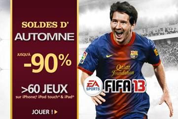 Soldes EA Mobile