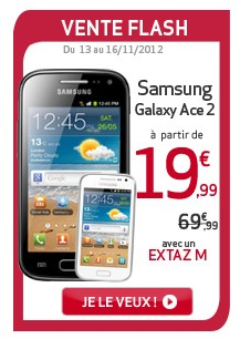 Vente Flash Virgin Mobile