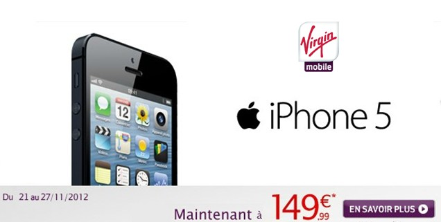 iphone 5 virgin mobile l iphone 5 224 149 99 chez mobile meilleur mobile 14611