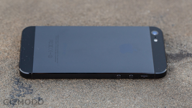 iPhone 5 avec coque