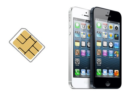 iPhone carte sim