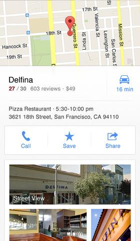 Google Maps iPhone3