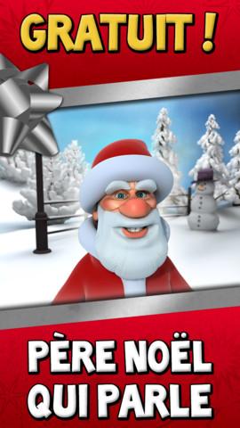 Père Noel qui parle
