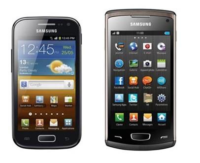 Samsung Galaxy Ace 2 et Wave 3