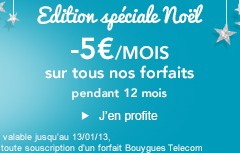 Bouygues Telecom fête Noel