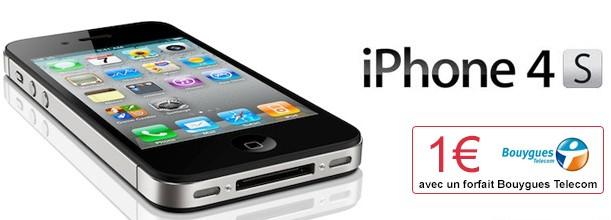 iPhone 4S à 1€