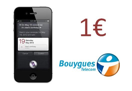 iPhone 4S à 1 euro