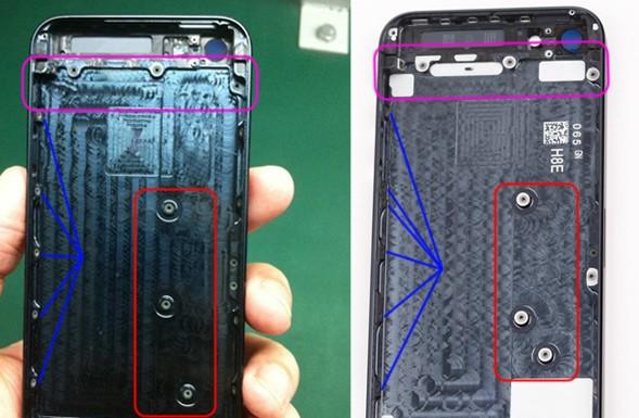 iPhone 5S 589x385 - iPhone 5S : les premières images ?