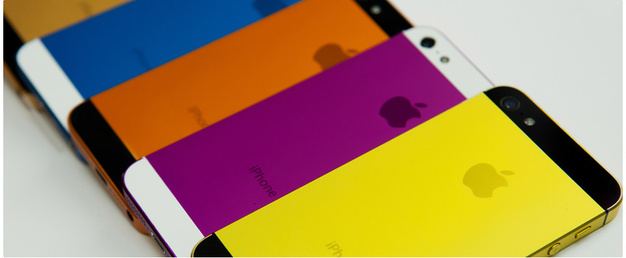 iPhone 5S couleurs