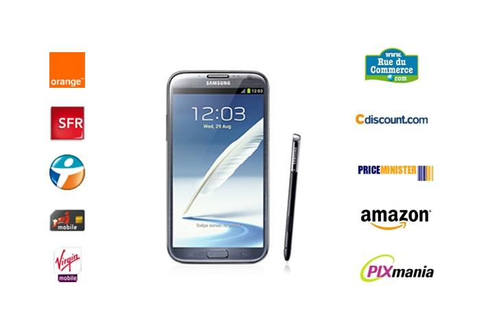 Baromètre Galaxy Note 2