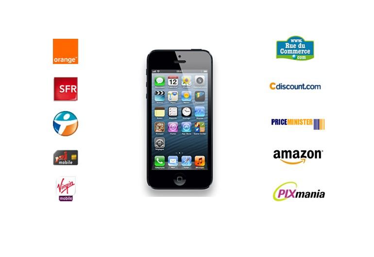 iphone 5 o l 39 acheter au meilleur prix au 30 janvier 2013 meilleur mobile. Black Bedroom Furniture Sets. Home Design Ideas