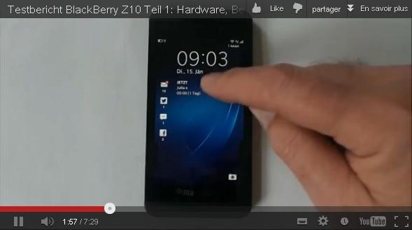 BlackBerry Z10 vid%C3%A9o - iPhone 6, Samsung Galaxy S4... : Les nouveautés et rumeurs de la semaine
