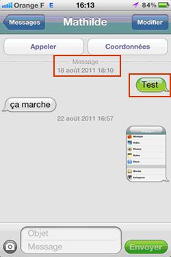 SMS iMessage 2