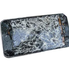 Smartphone-cassé