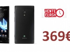 Vente Flash : Le Sony Xperia ion � 369� !