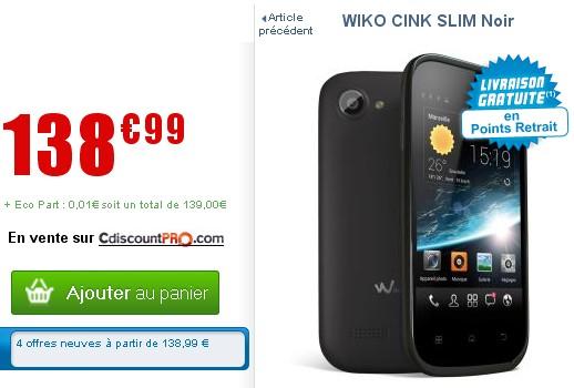 Wiko Cink Slim