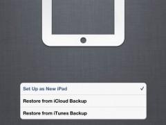 Configurer mon iPad