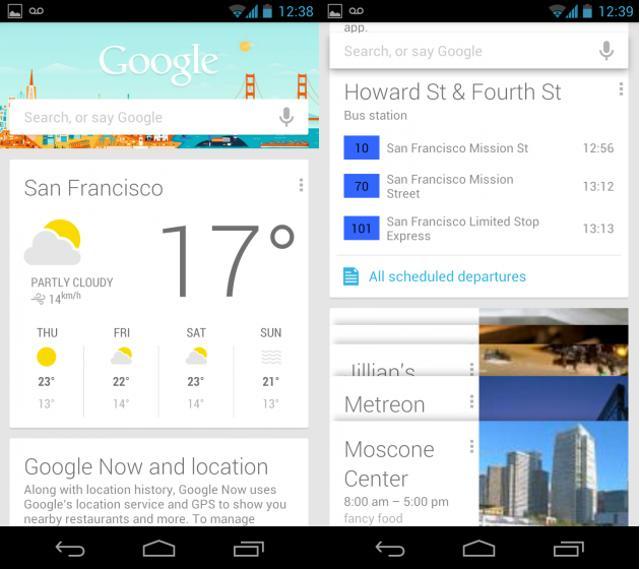Google Now Qu Est Ce Que C Est Meilleur Mobile
