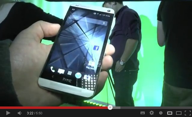 HTC One Prise en main