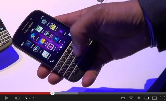 Prise en main BlackBerry 10 - Sony Xperia Z, BlackBerry Z10 et Q10... : Tous les tests et comparatifs de la semaine