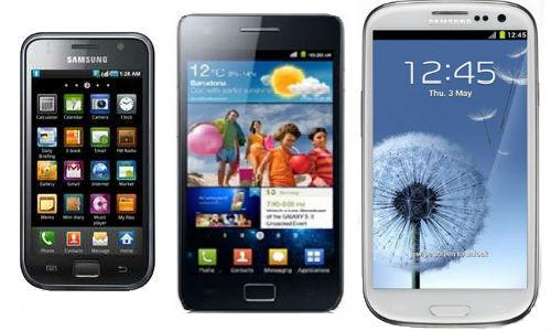 Samsung Galaxy S S2 et S3