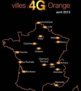Villes 4G Orange