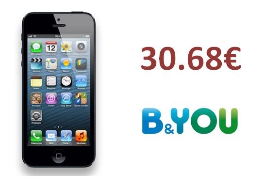 iPhone 5 B&You