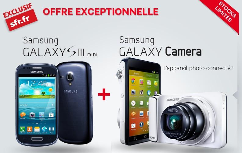 Galaxy S3 Mini Galaxy Camera SFR