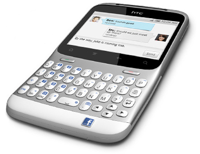 HTC ChaCha - Un Facebook Phone dévoilé le 4 avril ?