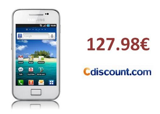 Samsung Galaxy Ace blanc