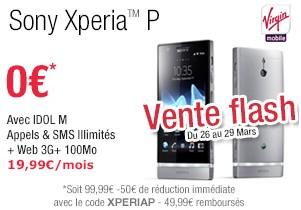 Sony Xperia P Virgin Mobile