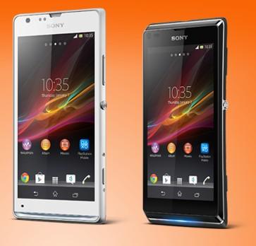 Sony Xperia P et L