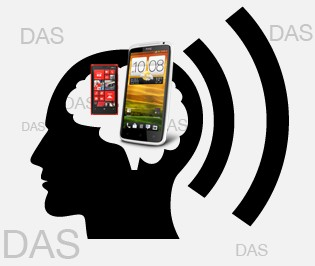 DAS smartphone