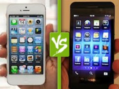 Le match : iPhone 5 ou BlackBerry Z10 ?