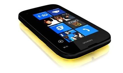 Nokia Lumia 510 jaune