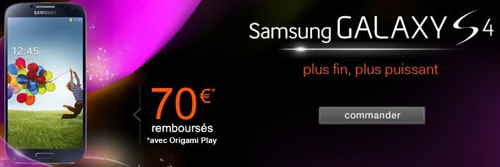 Samsung Galaxy S4 Orange