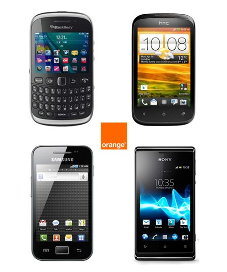 Smartphones Orange 1euro