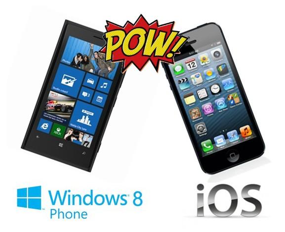 Windows Phone ou ios